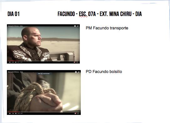 Planos de videoclip de Mariachi El Bronx