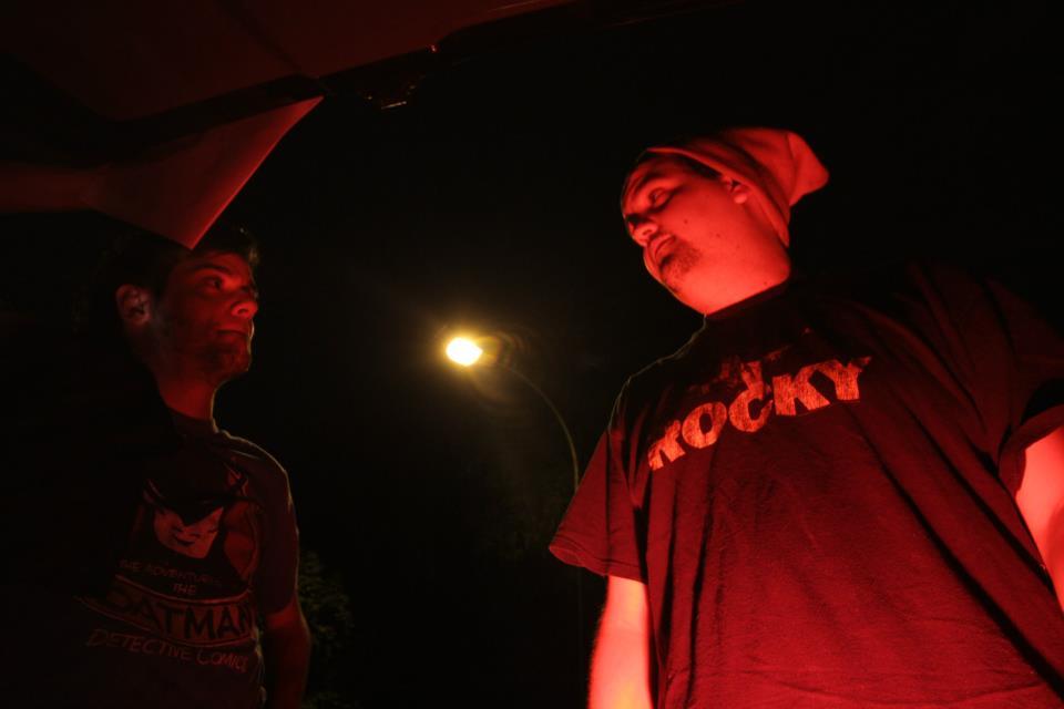 David y Fernando en el set de PIpi Mil 2011